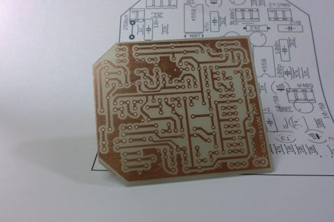 BOSS METAL ZONE PCB