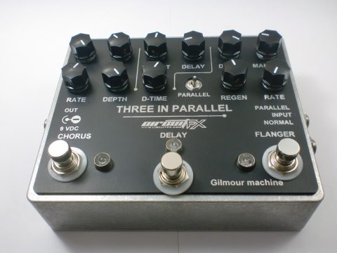 Guitar pedals 3in One